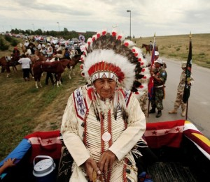 SIOUX LESSON PLAN. Chief Oliver Red Cloud 2006  Pow Wow parade in Pine Ridge, South Dakota. Photo- Aaron Huey.
