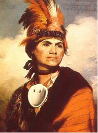 Mohawk Chief Joseph Brant. Photo: Early America.