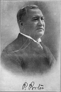Pleasant Porter, Principal Chief 1899-1907. Oklahoma Historical Society