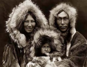 An Inupiat family from Noatak, Alaska, 1929. Photo credit Wikipedia.