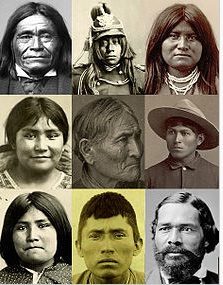 Beautiful Apache Portraits. Wikipedia