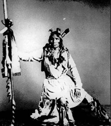 Chief Little Crow in 1862 By Charles A. Eastman. legendsofamerica.com