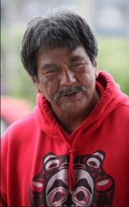 David Hudson, Chief, Quileute Tribe. Photo Seattle Times.
