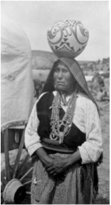 Laguna Pueblo woman. Credit: Indian Pueblo Cultural Center.