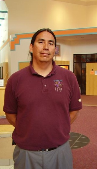 Manuelito Wheeler, Director of The Navajo Nation Museum. Photo- Myspace.