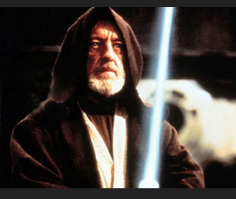 Sir Alec Guinness as Obi Wan Kenobi. Photo- UK Mirror. tiff