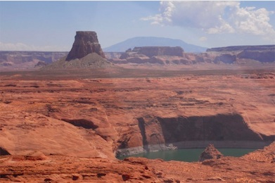 Tower Butte at Lake Powell Navajo Tribal Park-the newest attraction on Navajo Nation.Photo Navajo Parks and Recreation.
