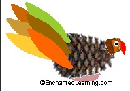 Pine Cone Turkey by Enchanted Learning.