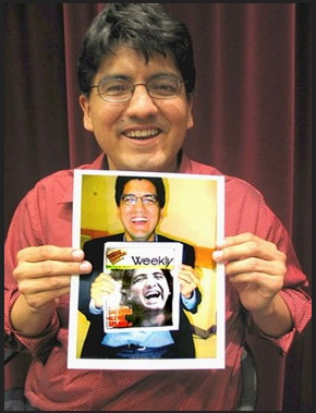 Sherman Alexie. Photo- TBTL