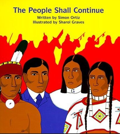The People Shall Continue, by Simon Ortiz. Amazon.