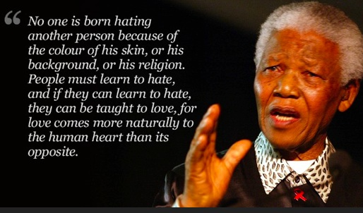 Nelson Mandela. Photo- CNN