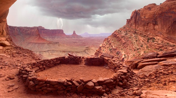 Mysteries of The Anasazi. photo- Rocky Mountain Legends.