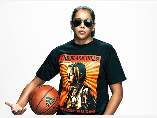 Shoni Schimmel is one smart jock. Photo by Robby Klein for espnW.