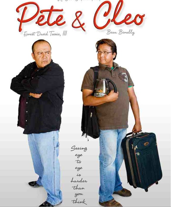 The film Pete & Cleo also produced by Holt Hamilton. Photo- Frybread.