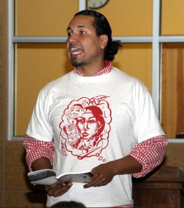 Author Gyasi Ross encourages Natives to share their stories. RezNet News.