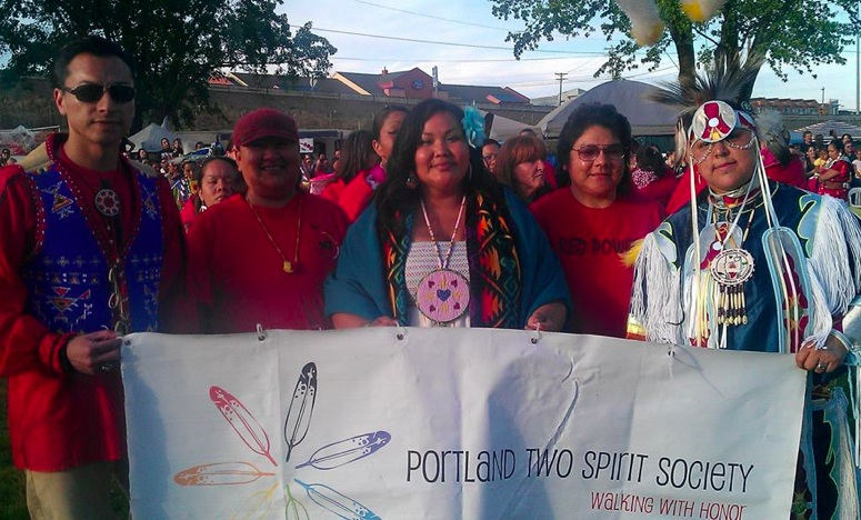 Portland Native Two Spirit Society. Facebook.