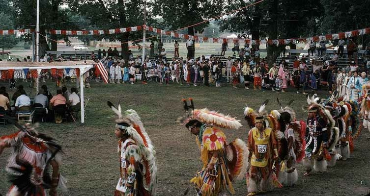 Pow-Wow Arena. Photo-- Crystallinks.