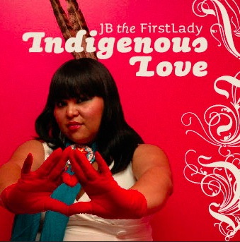 Native Canadian JB the FirstLady. Photo- Artists Beat Nation.