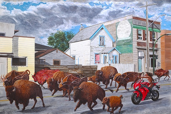 The Chase, Kent Monkman, 2014. Source: sargentsdaughters.com.