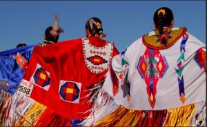 Crow Fair and Rodeo. A rainbow of colors. Photo: CNN