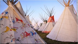 Crow Fair and Rodeo. Also known as Tee-pee capital of the world. Photo- CNN