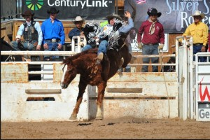 Delvecchio Kaye comes from a rodeo family. photo- Nativenews today