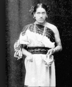 One of the most well-known two spirit in history is We-wha, an honored Zuni Pueblo who traveled to Washington, D.C., in 1886   and shared the story and values of her people. Courtesy of TwoSpirit.org