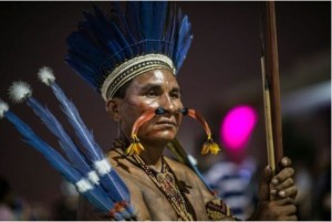 Indigenous participants from all over the world. Photo-digitaljournal
