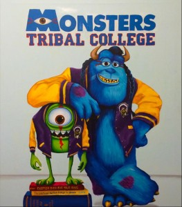 Monsters Tribal College by Bunky Echo-Hawk.