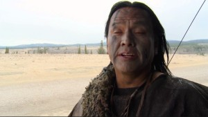 Native actor Arthur Redcloud in The Revenant