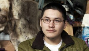 Josiah, 18, is passionate about Native traditions and an enthusiastic member of an Eskimo dance group
