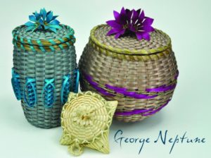 Beautiful Baskets by George Neptune.Photo: website