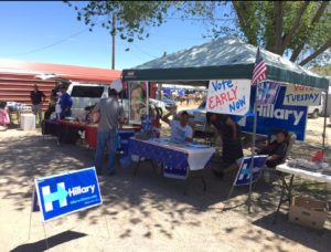 Native Americans vote for Hillary in Gallup NM