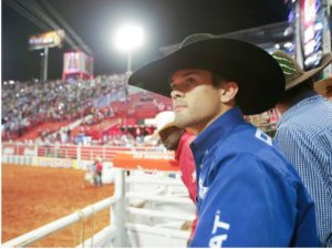 "Kaique Pacheco in ""Fearless,"" a new documentary series on Netflix that explores bull riding. Credit Alberto Gonzaga:Netflix"