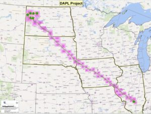 Energy Transfer map for pipeline